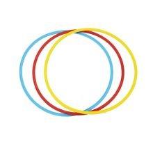 Balancebane tilbehør - Hula hoops 65cm