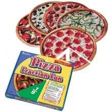 Brøkspil - Pizza
