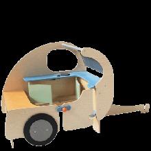 Leikkinurkkaus - Asuntovaunu