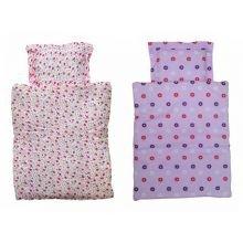 Nukenvaunujen tarvikkeet - peitto & tyyny