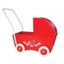 Dukkevogn - Den lille røde - Krea