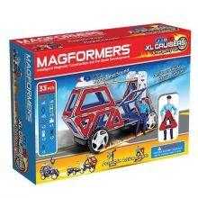 Magformers 33 kpl - Hätäajoneuvot