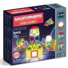 Magformers Neon LED -sarja - 31 kpl
