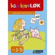 Bambino-lær - Koncentrationsspil 2