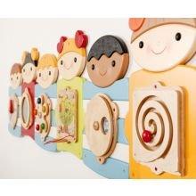 Seinäpaneeli - Suloiset lapset, 7 paneelia