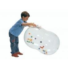 Jumppapallorulla - Läpinäkyvä, 55cm