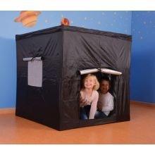 Pimeä teltta - Neliö, musta