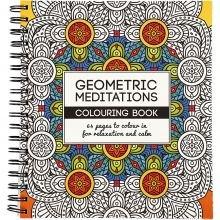 Malebog Mindfulness - Geometrisk, 64 sider