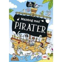 Malebog med pirater