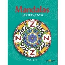 Mandala Värityskirja - Opettele kirjaimia