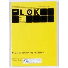 mini-LØK - Multiplikation og division