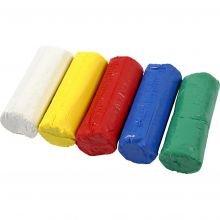 Modellervoks Soft Clay - Basisfarver, 400 gr.