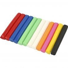 Modellervoks Soft Clay - Farvemix, 200 gr.