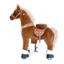 Ratsastettava hevonen, vaaleanruskea, keskikoko