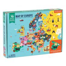 Puslespil, 70 brikker - Europa