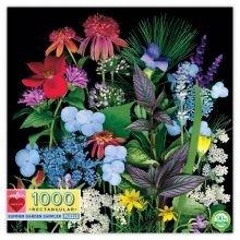 Palapeli sis. 1 000 palaa - Kesäinen puutarha