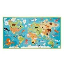 Palapeli, 100 palaa – Maailman eläimet