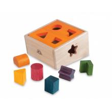 Palikkalaatikko luonnollisissa väreissä