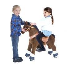 Ratsasta Itse - Hevonen, t.ruskea+valk.sukat Pieni