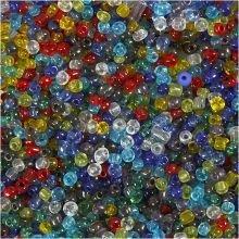 Läpinäkyviä helmiä Ø4 mm - 1000 g
