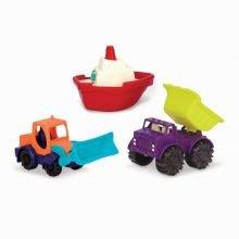 Hiekkaleikit - Autot ja vene