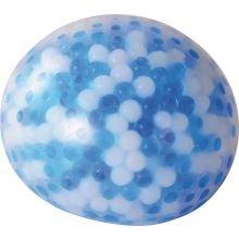 Viilentävä aistipallo Ø 10 cm - Sinivalkoinen