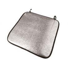 Istuintyyny, alumiini - rullattava