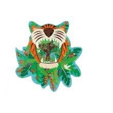 Siluettipalapeli, 59 palaa – Tiikeri