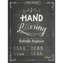 Hand Lettering - øvehæfte m. bogstaver