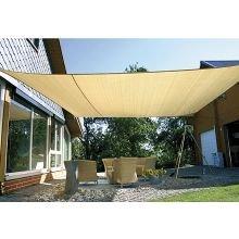 Aurinkovarjo - 5 x 5 metriä