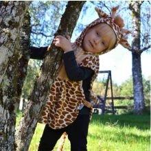 Udklædning - Babydragt, giraf