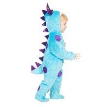 Udklædning - Babyheldragt, Blåt monster