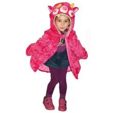 Udklædning - Kappe, pink monster