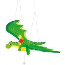 Puinen mobile - Lohikäärme