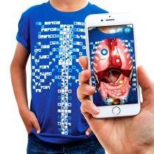 Anatomia t-paita, Interaktiivinen - Lapsille